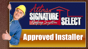 Tempest Industries Roofing Company is an Authorized Atlas Shingle Installer and Atlas Approved Signature Select Contractor
